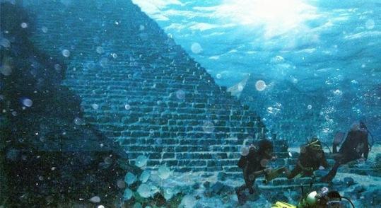 Underwater-pyramid Azores Portugal