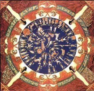 Denderah Zodiaco, Egitto.