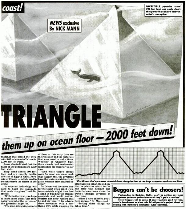 Proporzione tra le Piramidi ed una balena